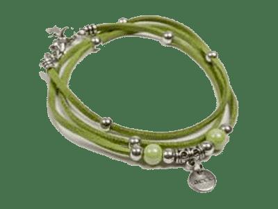 pulsera-cuero-verde